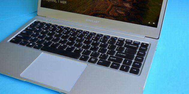 Teclast F7. Клавиатура