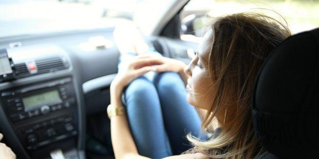 чем заняться в дороге: пробка