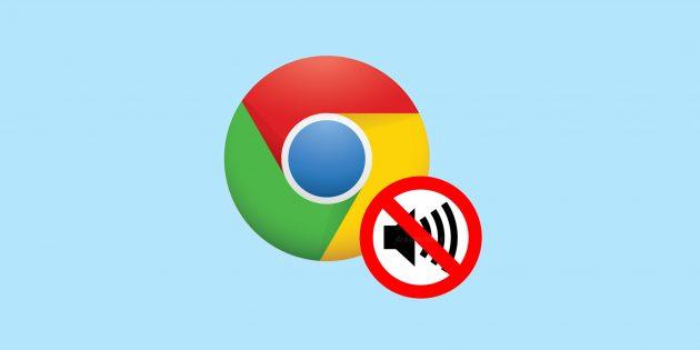 Это расширение отключит звук на каждом сайте в Chrome