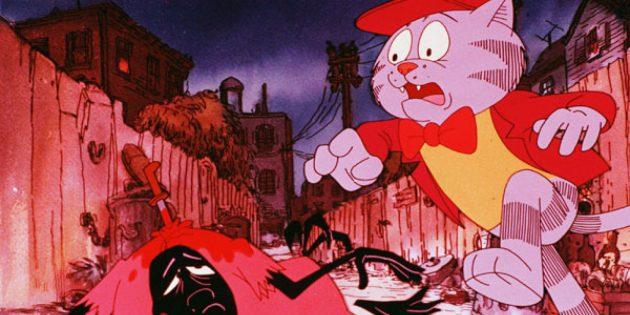 Лучшие анимационные фильмы: Приключения кота Фрица