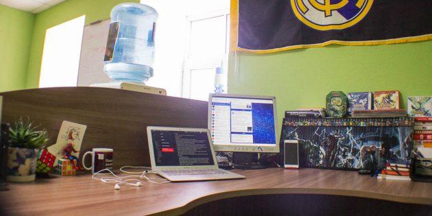 FlatPlan: Рабочее место Павла Федорова