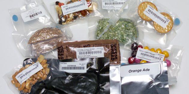 космические изобретения: сублимированные продукты