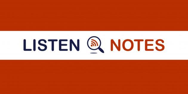 Listen Notes поможет навести порядок в библиотеке подкастов