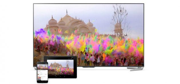Android TV: функции Chromecast