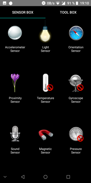 iLA Silk: сенсоры и датчики