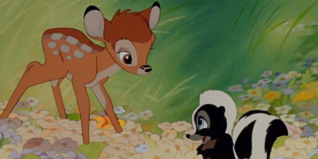 Лучшие анимационные фильмы: Бэмби