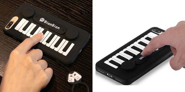 Лучшие чехлы для iPhone: Чехол с клавишами