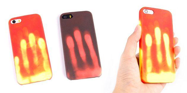 Лучшие чехлы для iPhone: Термочувствительный чехол