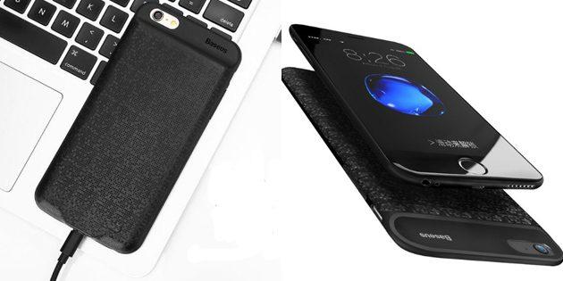 Лучшие чехлы для iPhone: Чехол-аккумулятор