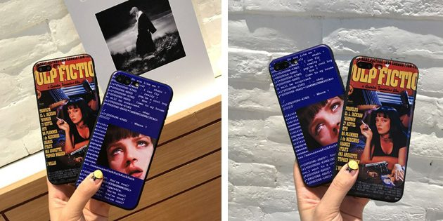 Лучшие чехлы для iPhone: Чехол Pulp Fiction