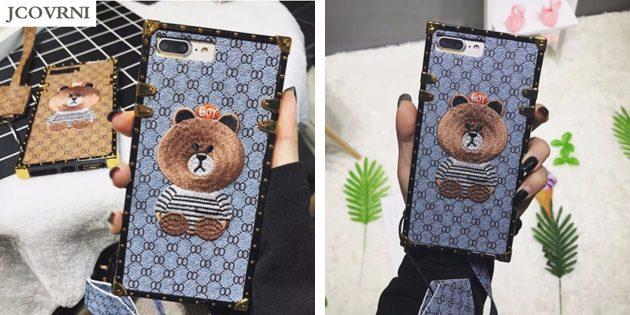 Лучшие чехлы для iPhone: Чехол с вышивкой