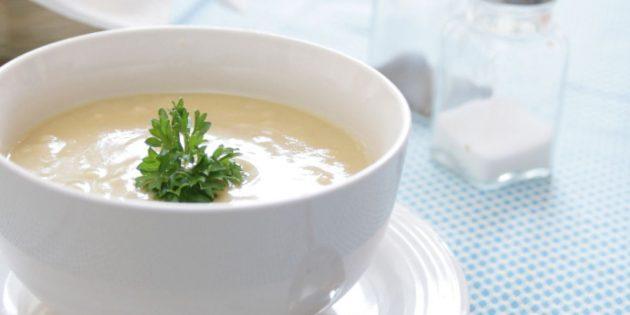 Рецепты крем-супов: Крем-суп с сельдереем