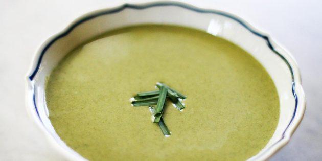 Рецепты крем-супов: Крем-суп со шпинатом