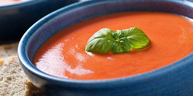 Рецепты крем-супов: Томатный крем-суп