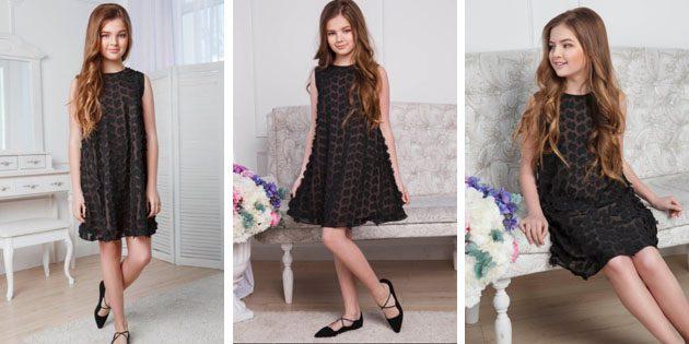 Платье с цветамиот Fizerly