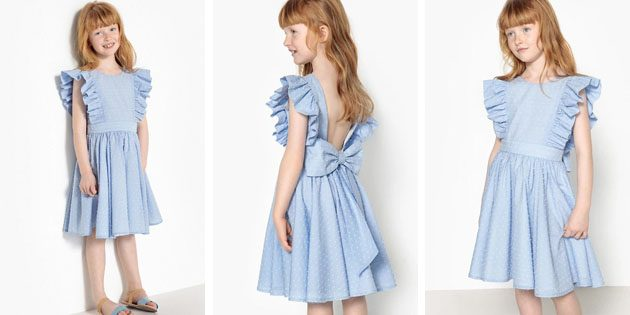 Детские платья на выпускной: Платье с открытой спинкой отLa Redoute