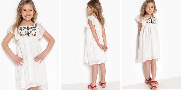 Платье с вышивкой от La Redoute