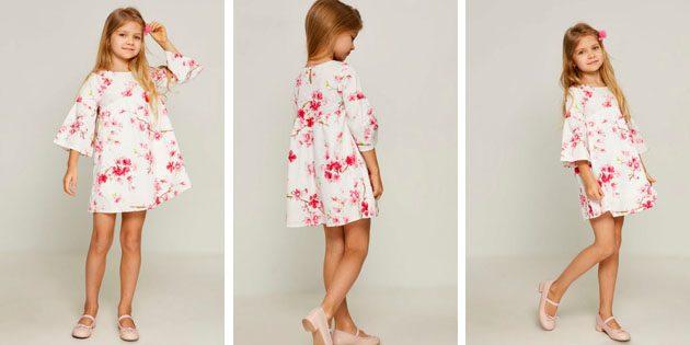 Платье с широкими рукавами от Zarina