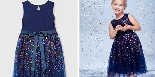 Платье с пайетками от Ostin