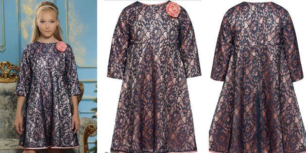 Платье с розой отPelican