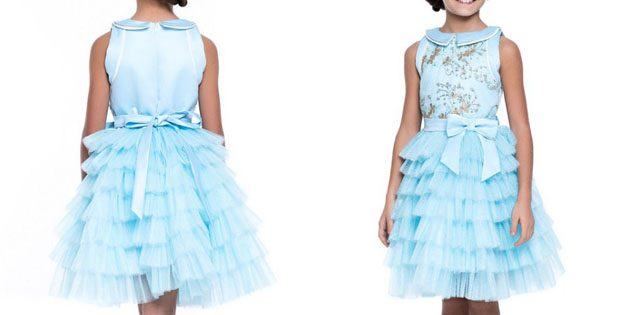 Платье с многослойной юбкой от Болеро