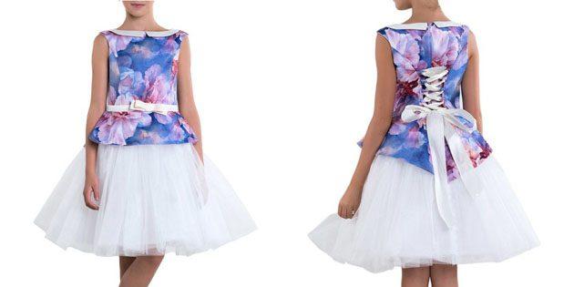 Платье со шнуровкой от Болеро