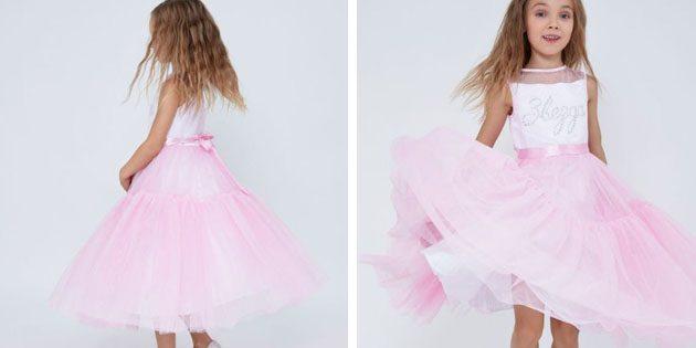 Платье с длинной юбкой от Zarina