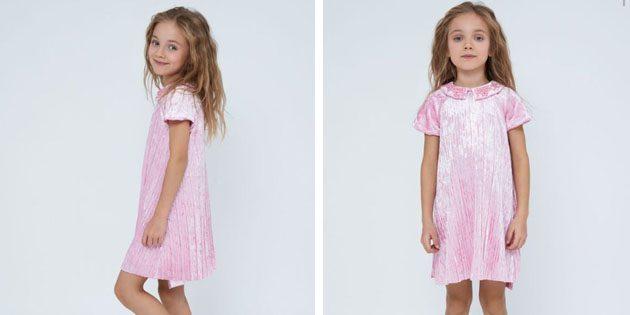 Платье из велюра от Zarina