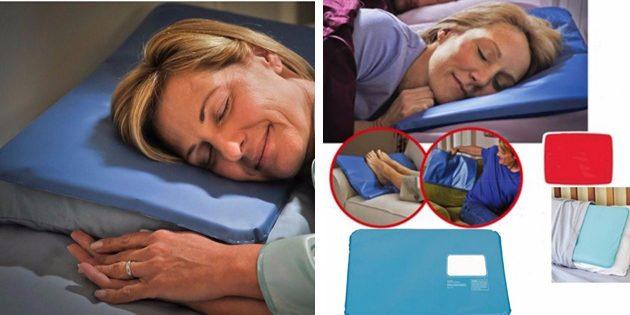 Фитнес-браслет. Охлаждающая подушка