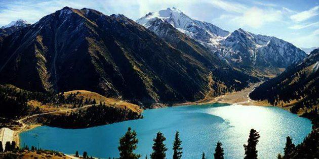 Страны ближнего зарубежья: Иле-Алатауский национальный парк в Казахстане