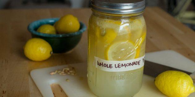 Что приготовить с лимоном: Лимонад с лимоном