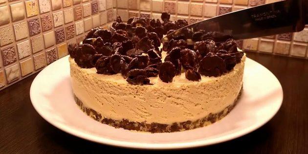 Торт с варёной сгущёнкой