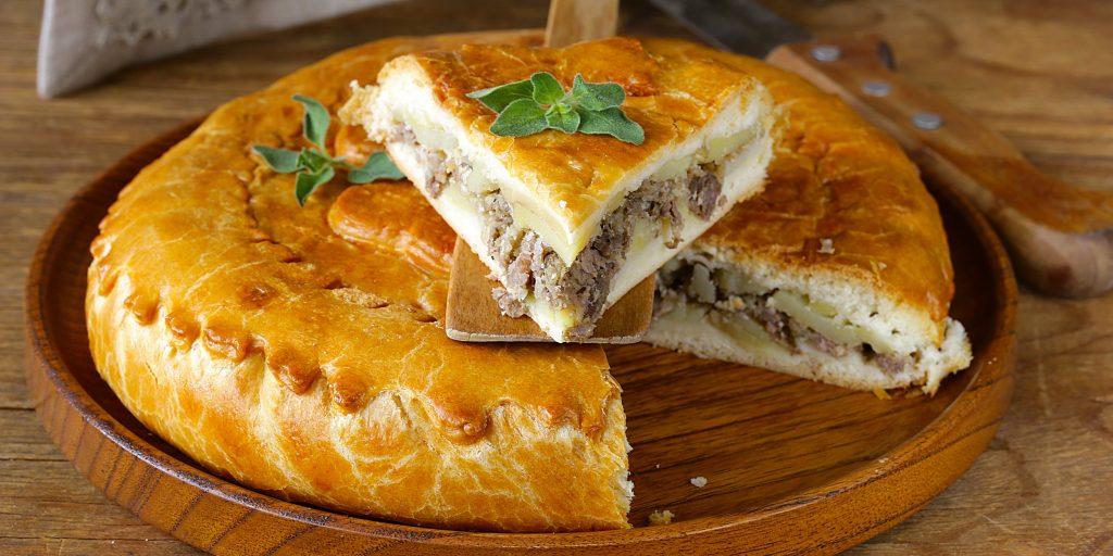 Пирожки с рубленым мясом.. Твоя пирожковая