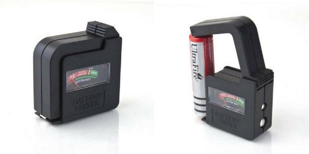 Тестер заряда аккумуляторов