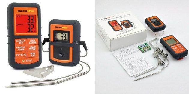 Система контроля температуры для гриля