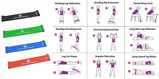 Ленты для фитнеса