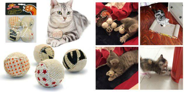 Мячики для кота
