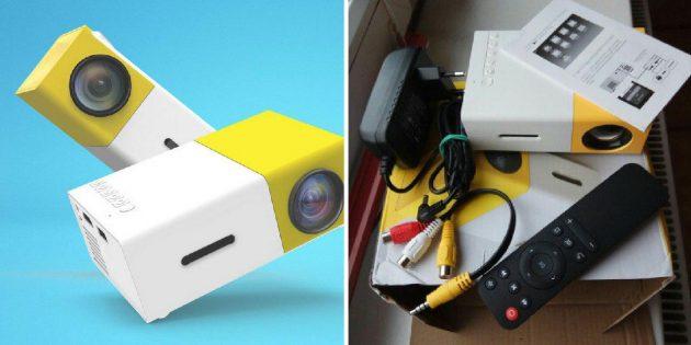 Портативный LED-проектор