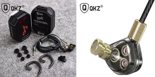 Наушники Qkz KD6