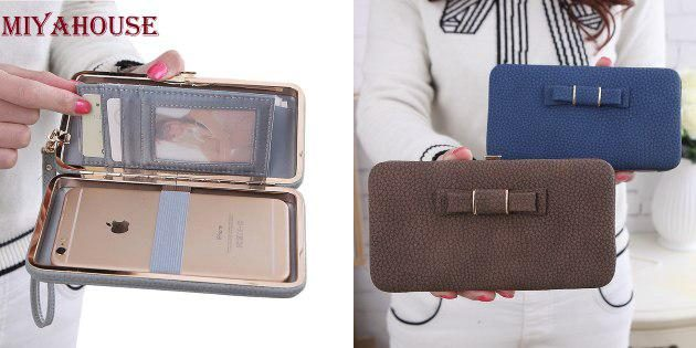 Вместительный кошелёк