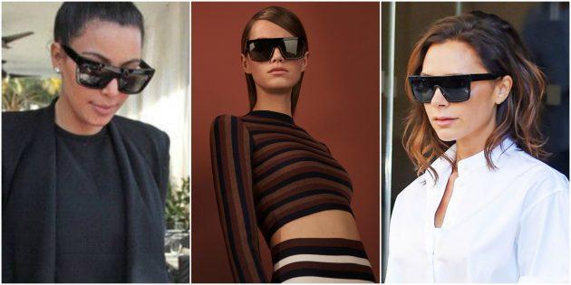 Модные женские очки 2018: Очки-козырёк