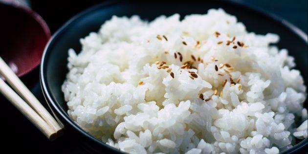 простые блюда: рис