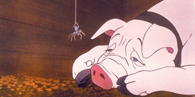 Лучшие анимационные фильмы: Паутина Шарлотты