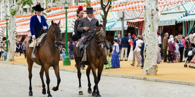 Севильская ярмарка La Feria de Abril (April Fair)