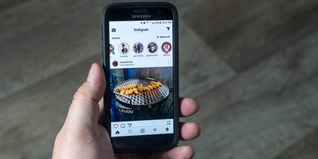 В Instagram Stories теперь можно делиться чужими постами