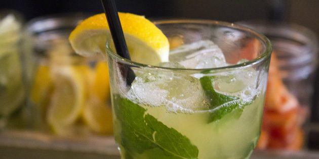 Лучшие рецепты с базиликом: Базиликово-грейпфрутовый лимонад