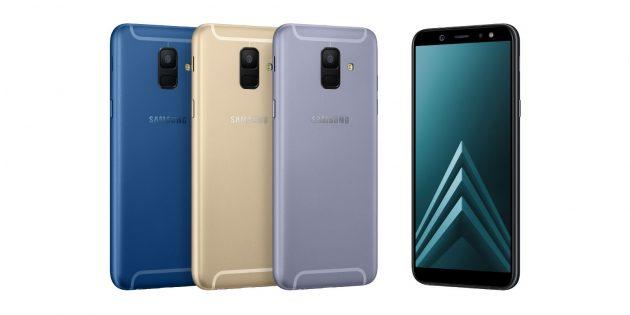 Galaxy A6 и Galaxy A6+