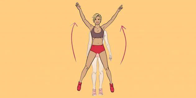 30 упражнений для жёсткой кардиотренировки, которая оставит вас без сил