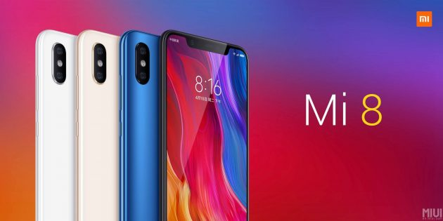 Xiaomi представила флагманский Mi 8, браслет Mi Band 3 и MIUI 10