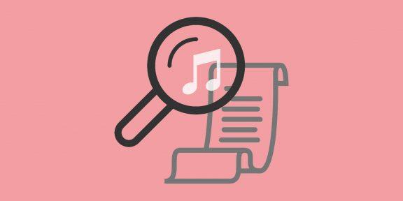 5 приложений, которые найдут для вас тексты песен